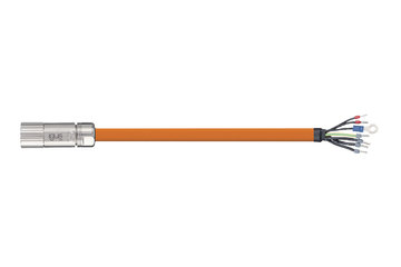 readycable® servo cable suitable for Beckhoff iZK4000-2112-xxxx, base cable iguPUR 15 x d