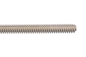 dryspin® high helix lead screw, left-hand thread, 1.4301 stainless steel