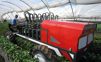 Application planting machine