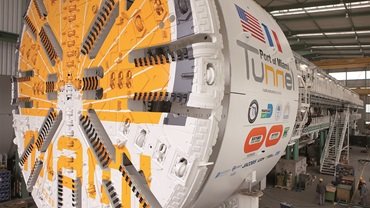 Tunnel boring machine, Herrenknecht AG