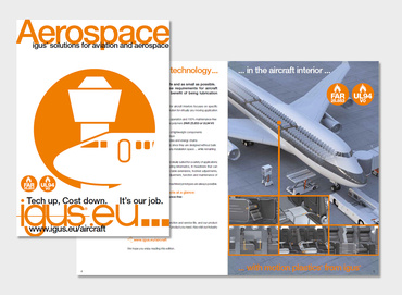 Aerospace industry brochure